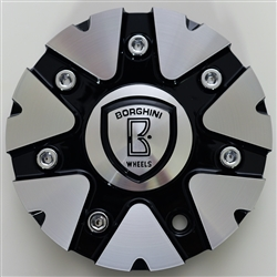 Borghini - B20 Center Cap Serial Number CSB20-2A (aluminum)