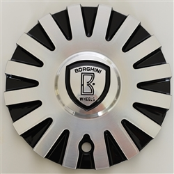 Borghini - B22 Center Cap Serial Number CSB22-2A (aluminum)