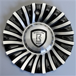 Borghini - B24 Center Cap Serial Number CSB24-1A (Aluminum)