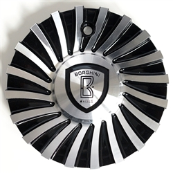 Borghini - B24 Center Cap Serial Number CSB24-2A (Aluminum)