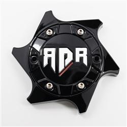 RDR Wheels CBRD4-1P Matte Black Center Cap