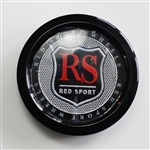 Red Sport Wheel Center Cap part number CCVE70-1P