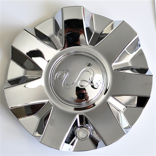 U2 Wheels MCS65NA08 Chrome Wheel Center Cap